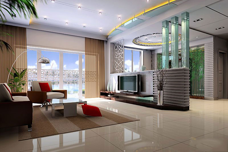 Modern-Living-Room-TV-Wall-Units-30-in-Grey-and-Dark-Brown-Colors